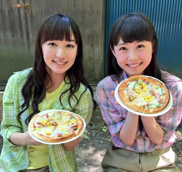 【エンタメ画像】【カントリー・ガールズ】島村うたちゃんのピザ画像きたああああああああああああ