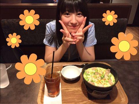 【エンタメ画像】【モーニング娘。'17】羽賀あかねちんの昼飯の量wwwwww