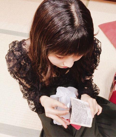 【エンタメ画像】【モーニング娘。'17】佐藤まーちゃん、尾形春水を通じて携帯の調子が悪くブログ更新が大変なことを報告