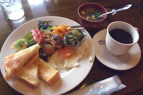 船越南「cafe ラランティ」(閉店)