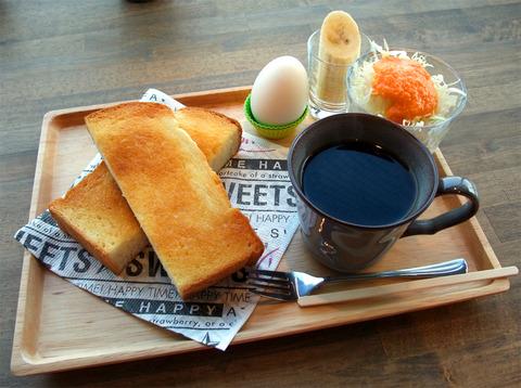 比治山本町「花子cafe」(モーニング終了)