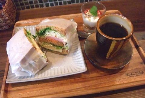 尾道市久保「喫茶オルタナ」(モーニング終了)