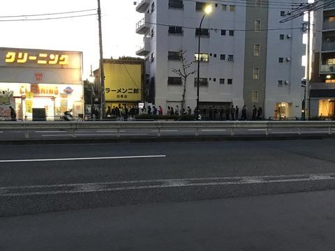 ラーメン二郎 目黒店(1)