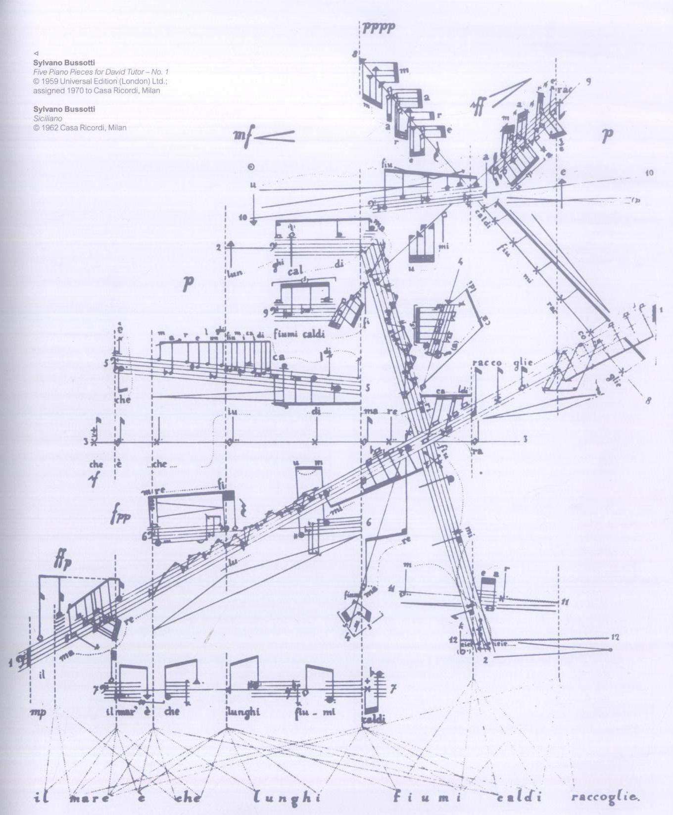 図形楽譜 建築