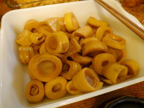 孟宗竹の煮物