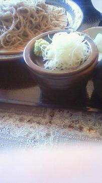 もり蕎麦の葱