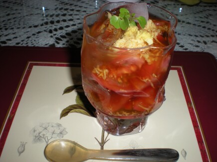 トマト冷スープ