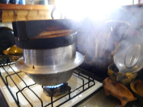 銀シャリを炊く