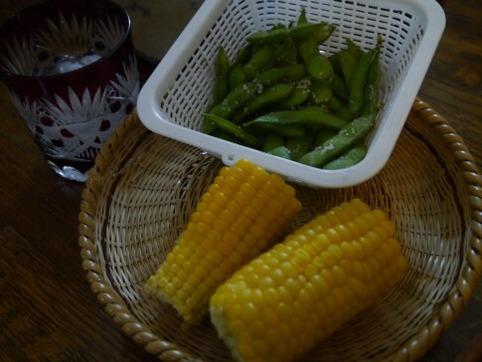 枝豆&トウモロコシ