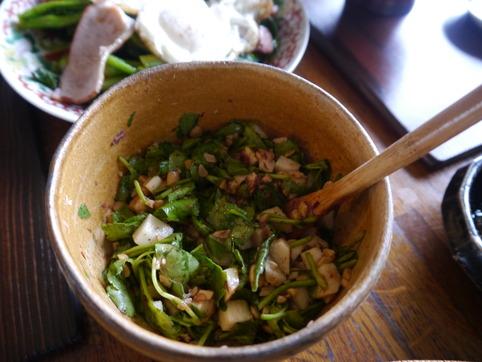 納豆と長芋と納豆和え