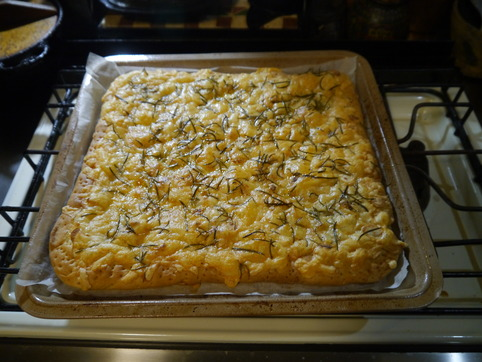 ローズマリーのピザ