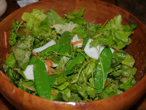 庭のサラダ