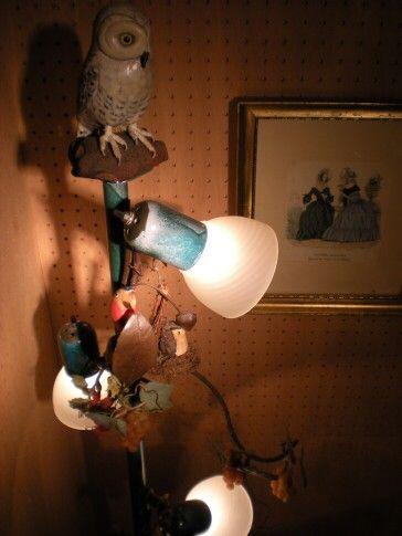 フクロウのライト