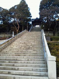 二荒さん階段