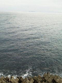 熱海の海(部屋から)