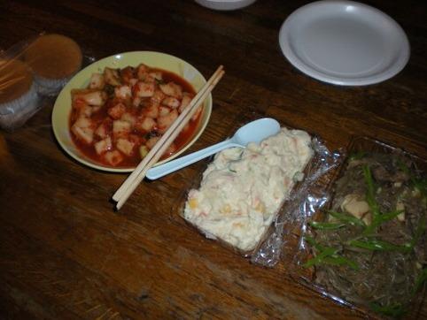 松作(カクテキ・ポテトサラダ・春雨)