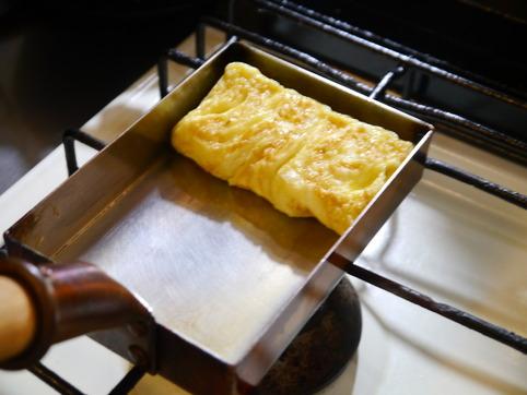 塩麹の卵焼き