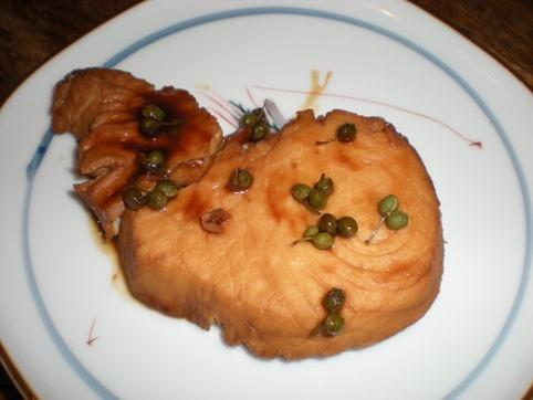 煮魚(メカジキ)