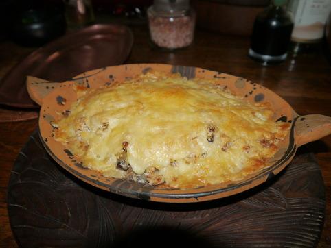 ベーコン&牡蠣のマカロニグラタン