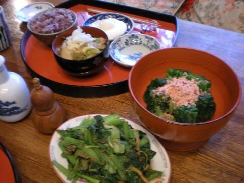 3日のお昼ご飯