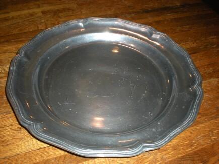 ピューター大皿