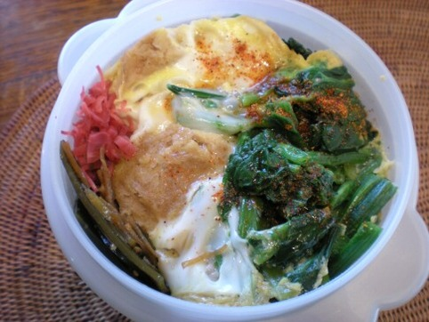 高野豆腐の卵とじ弁当