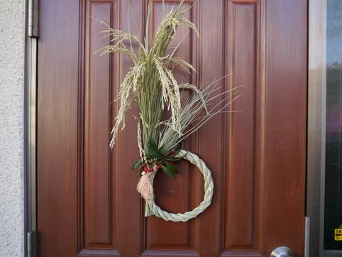 玄関ドア飾り