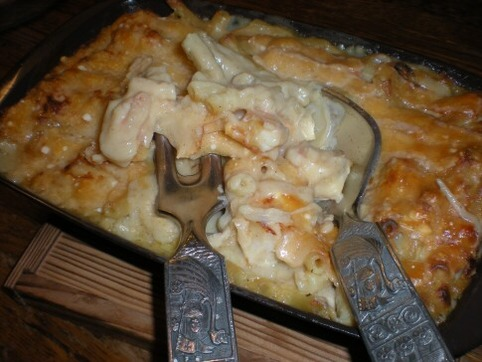 鶏肉&海老の豆乳グラタン