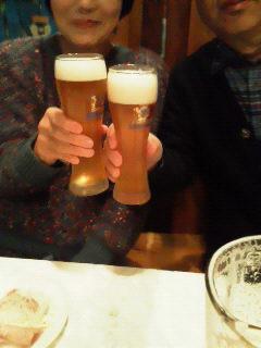 おいどん達と乾杯♪