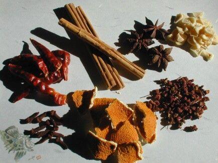 五香油の材料