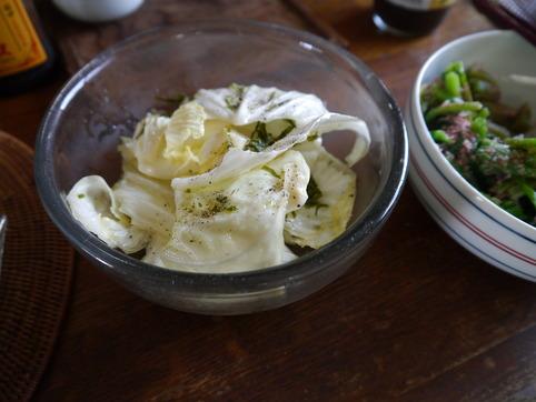 キャベツ&すき昆布のサラダ
