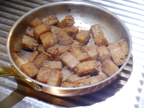 コンニャク炒り煮