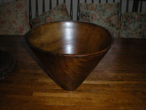 おっきな木の器