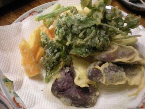 野菜の天麩羅