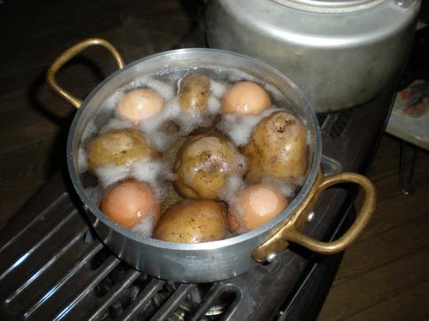 ジャガイモ&卵