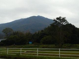 雨の筑波山