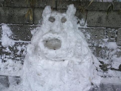 雪だるま2