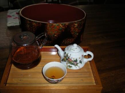 茶櫃と茶器