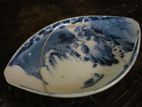 銀継ぎ皿3