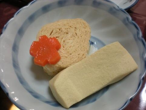 湯葉と高野豆腐