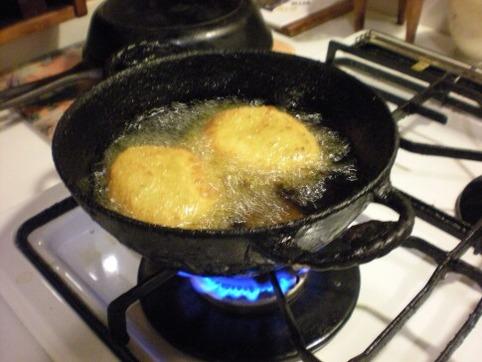 コロッケ鍋