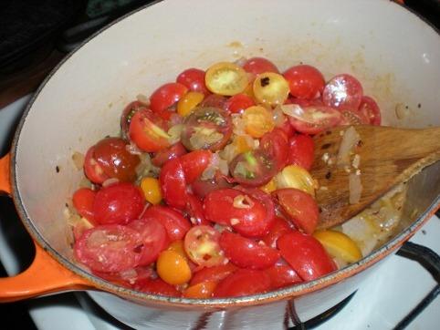 ミニトマトを使う