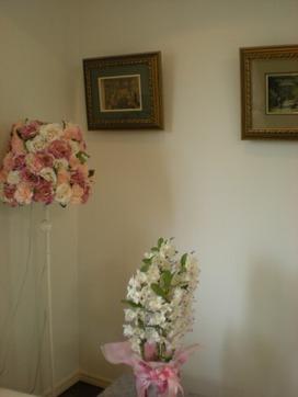 バラの花の電気スタンド