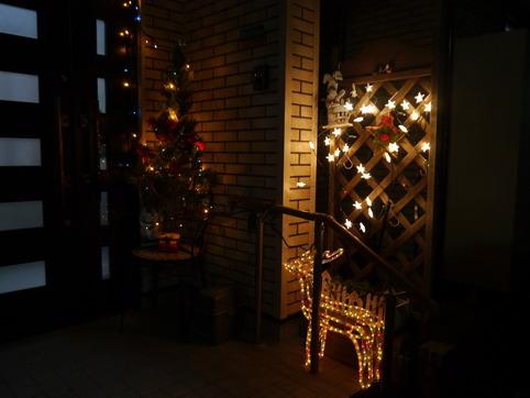クリスマスお隣り
