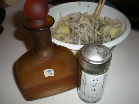 バジル&ディル酢