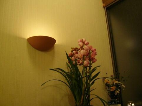 玄関壁灯り