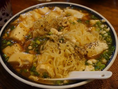 あんかけ豆腐ラーメン