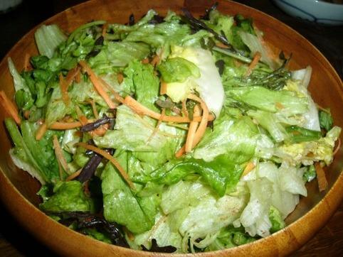 簡単サラダ