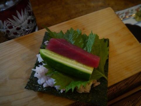 ひとり手巻き寿司