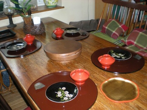 テーブルセッティング1